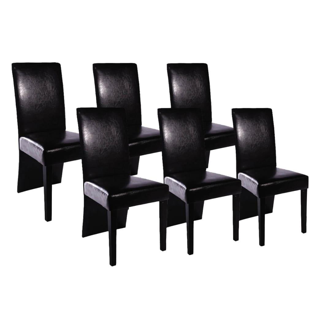 La boutique en ligne chaise design bois noir lot de 6 for Chaise bois solde