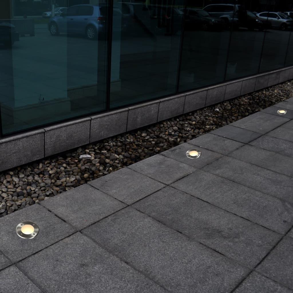 Articoli per set di faretti ad incasso carrabili 12 pezzi for Faretti per esterno