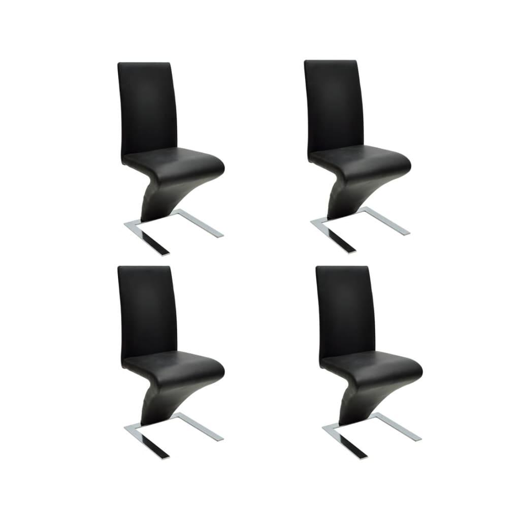 4 st hle stuhlgruppe esszimmer stuhlset g nstig kaufen. Black Bedroom Furniture Sets. Home Design Ideas