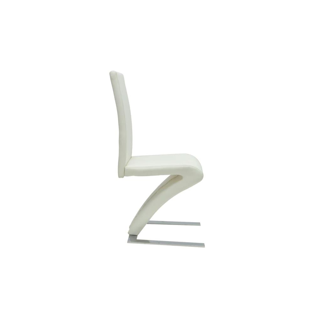 Articoli per Sedie moderne design set da 4 sedie pelle bianca  vidaXL.it