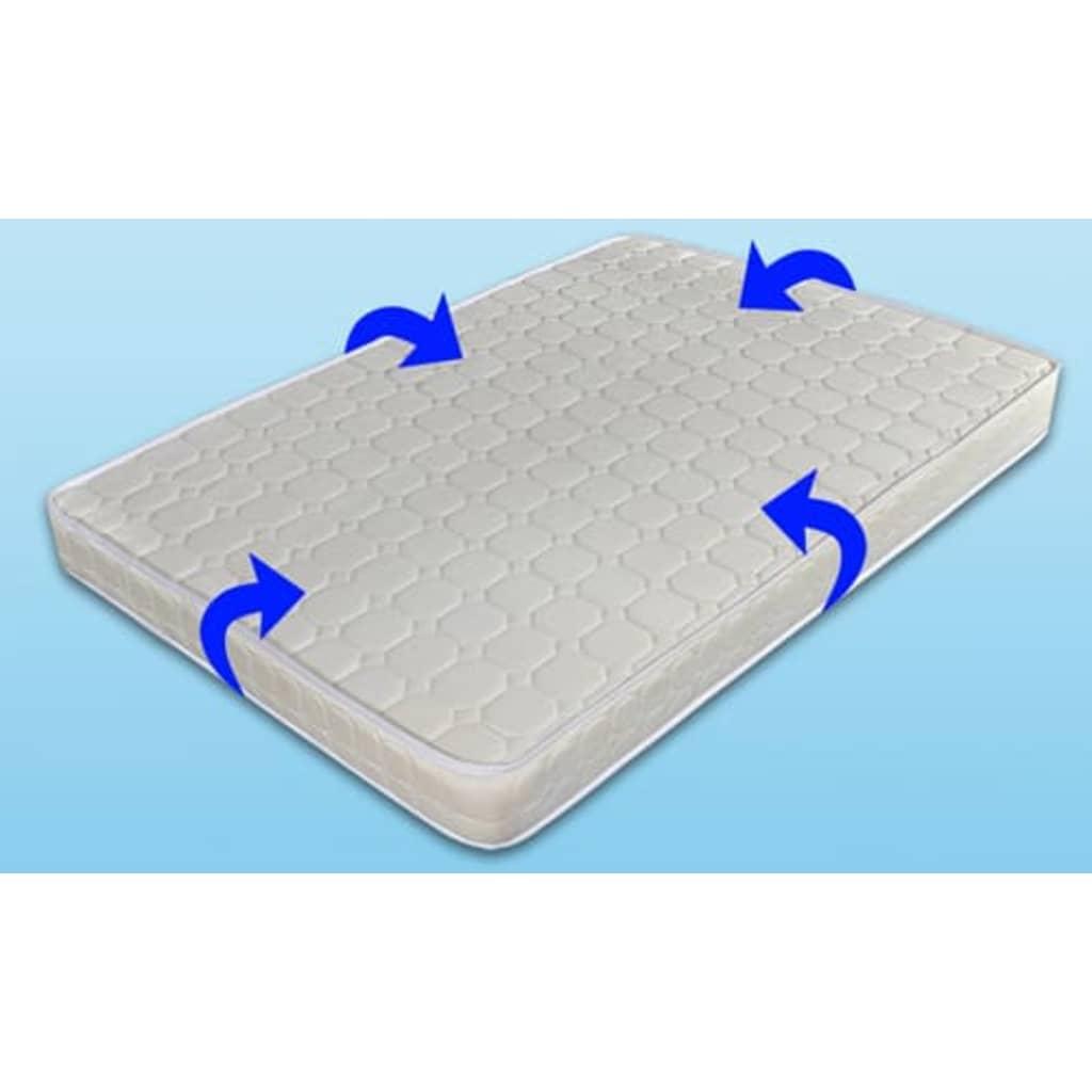 der metallbett mit matratze 140x200cm bett online shop. Black Bedroom Furniture Sets. Home Design Ideas