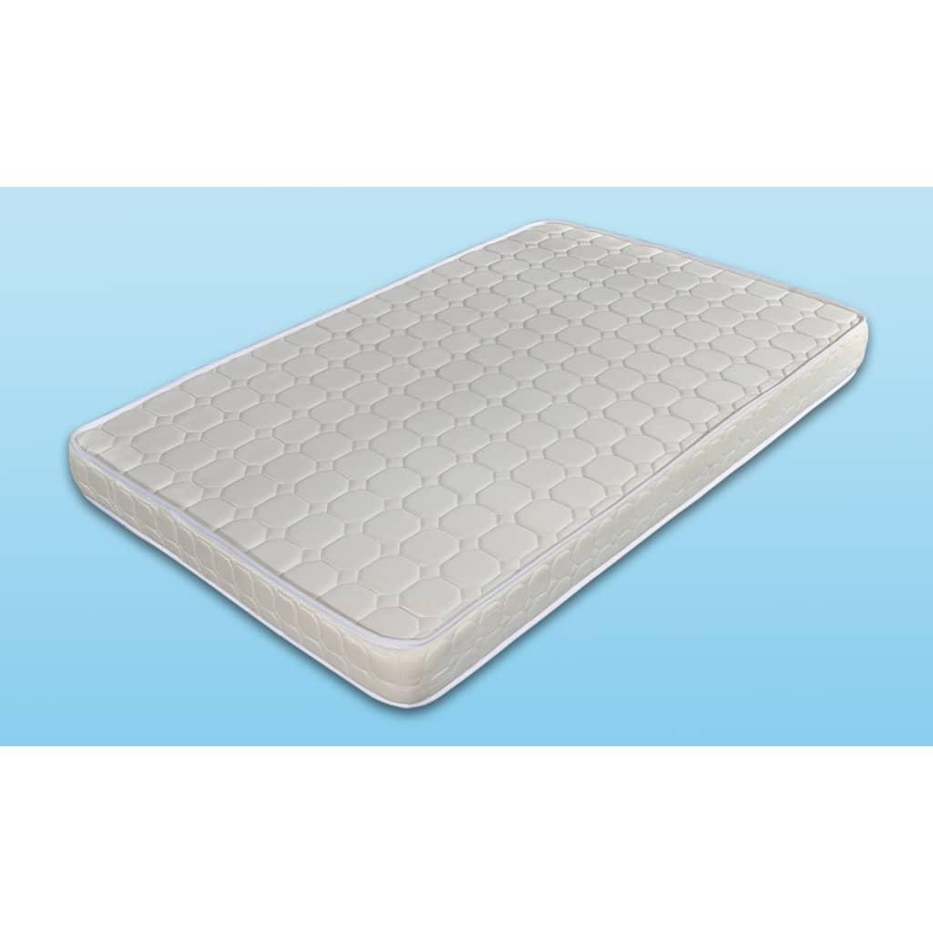 acheter lit en bois clair 140 x 200 avec matelas 60599 240011 pas cher. Black Bedroom Furniture Sets. Home Design Ideas