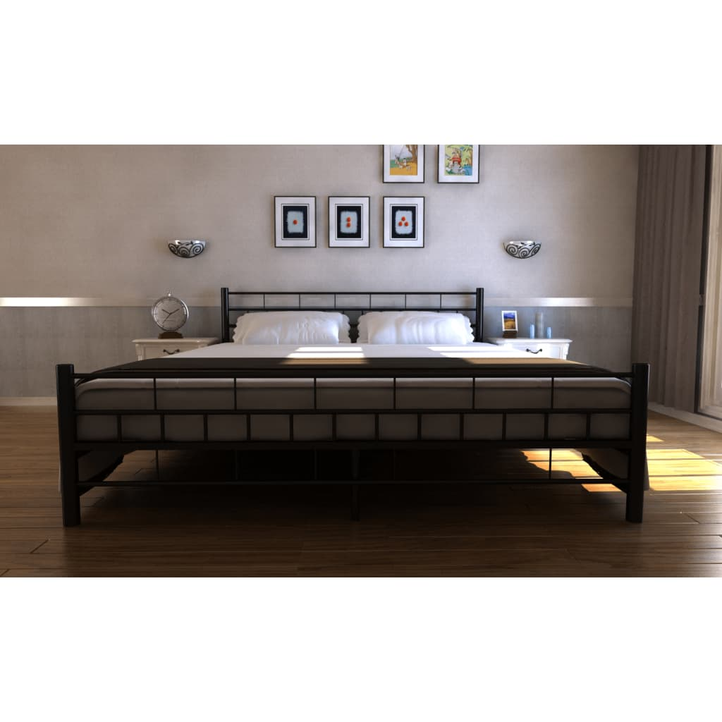 la boutique en ligne lit adulte 2 personnes 180x200 cadre. Black Bedroom Furniture Sets. Home Design Ideas