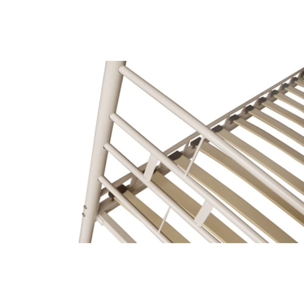 acheter lit en m tal avec le matelas 180 x 200 cm pas cher. Black Bedroom Furniture Sets. Home Design Ideas