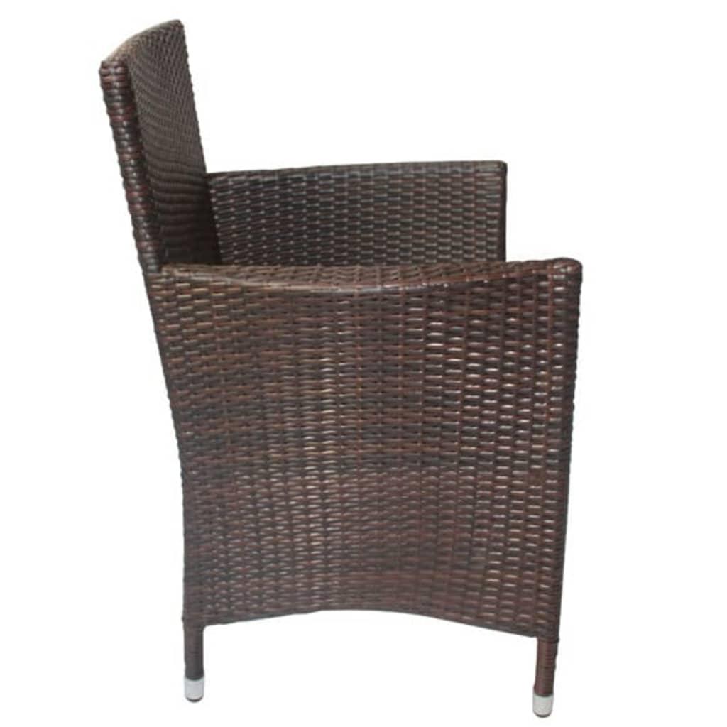 La boutique en ligne lot de 4 fauteuils de jardin en for Fauteuil de jardin en resine