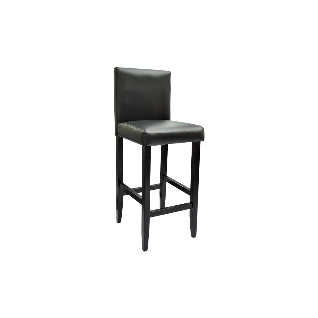 La boutique en ligne lot de 4 tabourets de bar chicago noir - Lot 4 tabouret de bar ...