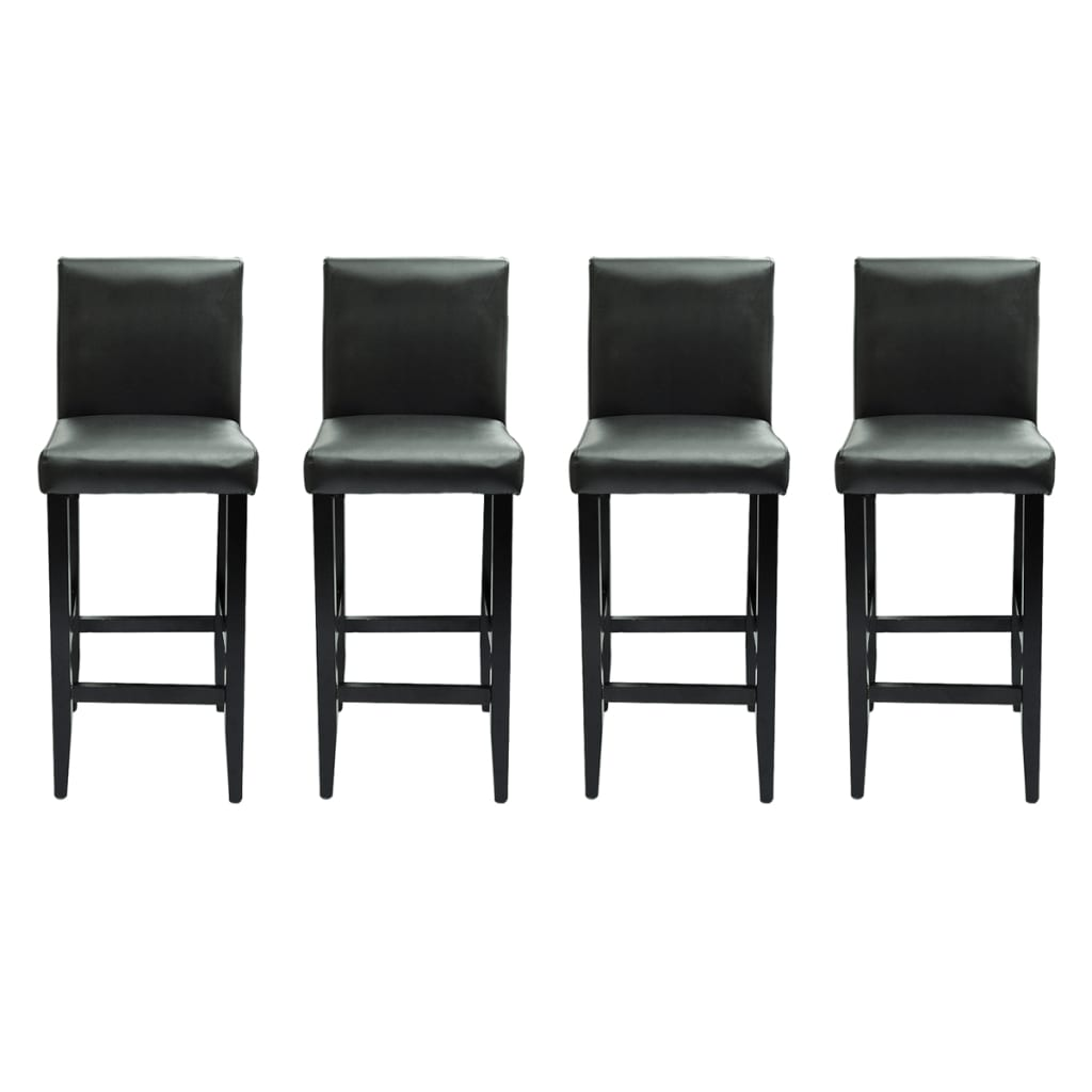 barstol i 4 pack luxemburg svart. Black Bedroom Furniture Sets. Home Design Ideas