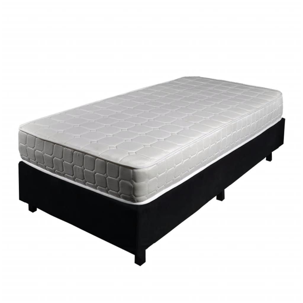 bettstatt bett 90x200cm mit taschenfederkern matratze g nstig kaufen. Black Bedroom Furniture Sets. Home Design Ideas