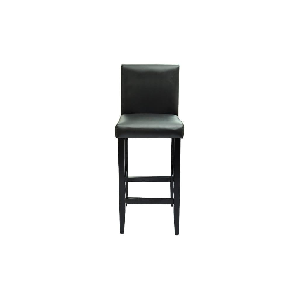 Der 2 barhocker mit bartisch set essgruppe design schwarz for Barhocker und bartisch