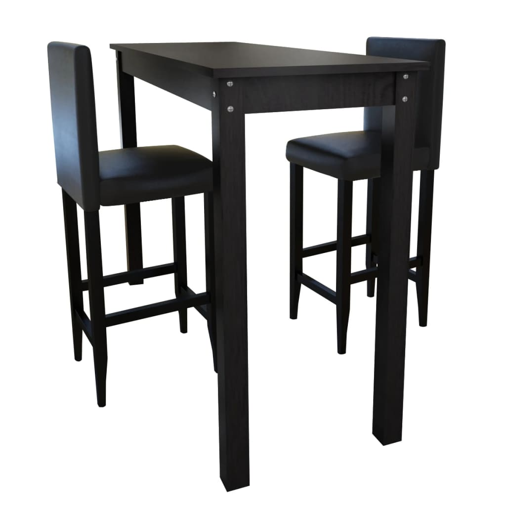 Mesa alta de bar com 2 cadeiras - Amazon table de bar ...