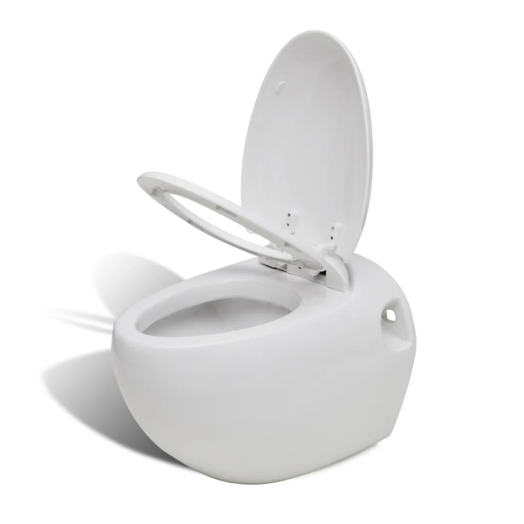 der ei design wand h nge toilette wc set wei inkl sp lkasten online shop. Black Bedroom Furniture Sets. Home Design Ideas