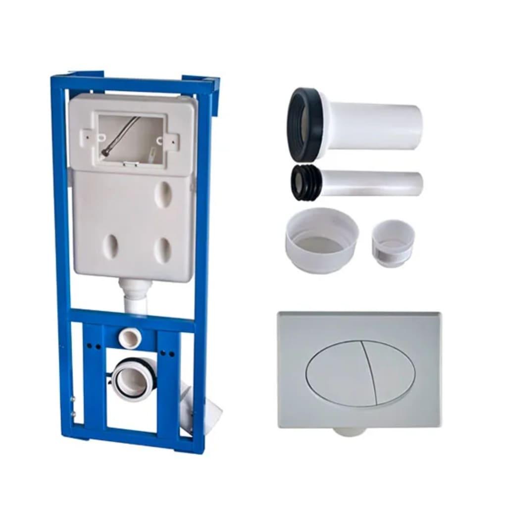 New wall mounted toilet set egg design white for Washroom set