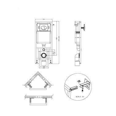 der wand h nge wc toilette set edle design wei inkl sp lkasten online shop. Black Bedroom Furniture Sets. Home Design Ideas