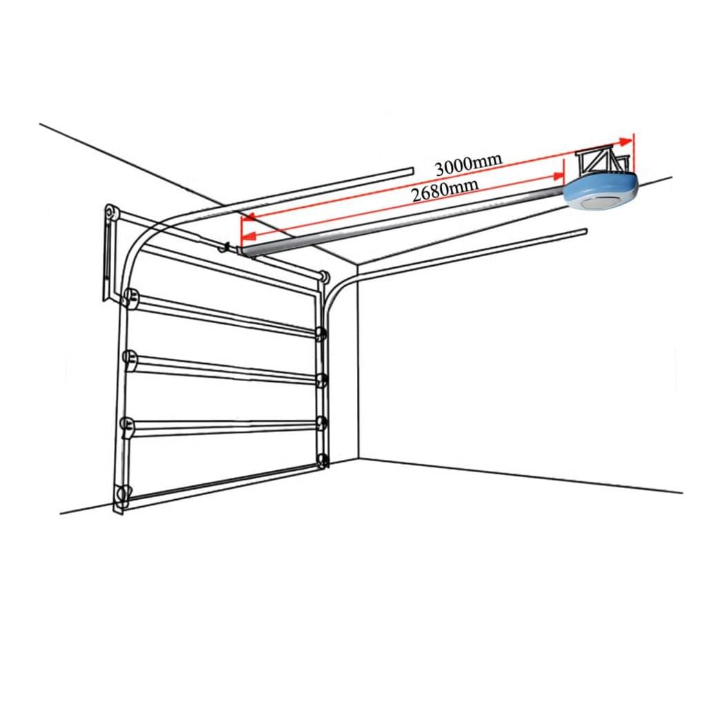 Puerta de garaje apertura el ctrica set de 2 mando a - Mando a distancia garaje ...