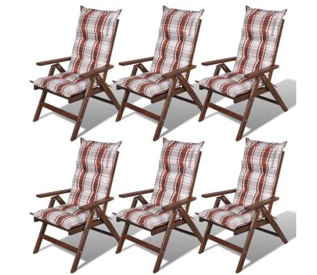 la boutique en ligne coussin pour chaise de jardin brun. Black Bedroom Furniture Sets. Home Design Ideas