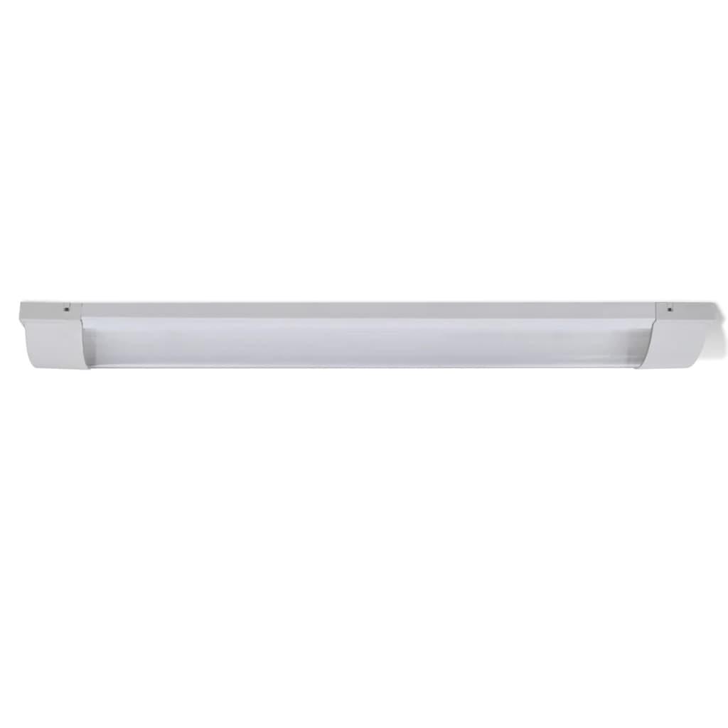 2-Lamp 18W T8 Fluorescent Light Fixture