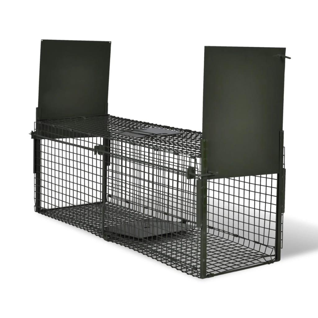 acheter cage pi ge pour animaux deux entr es anti rongeur pas cher. Black Bedroom Furniture Sets. Home Design Ideas