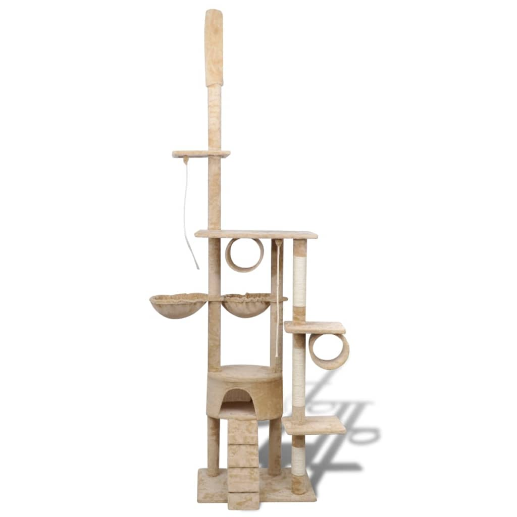 vidaxl-cat-tree-scratching-post-220-240-cm-1-condo-beige