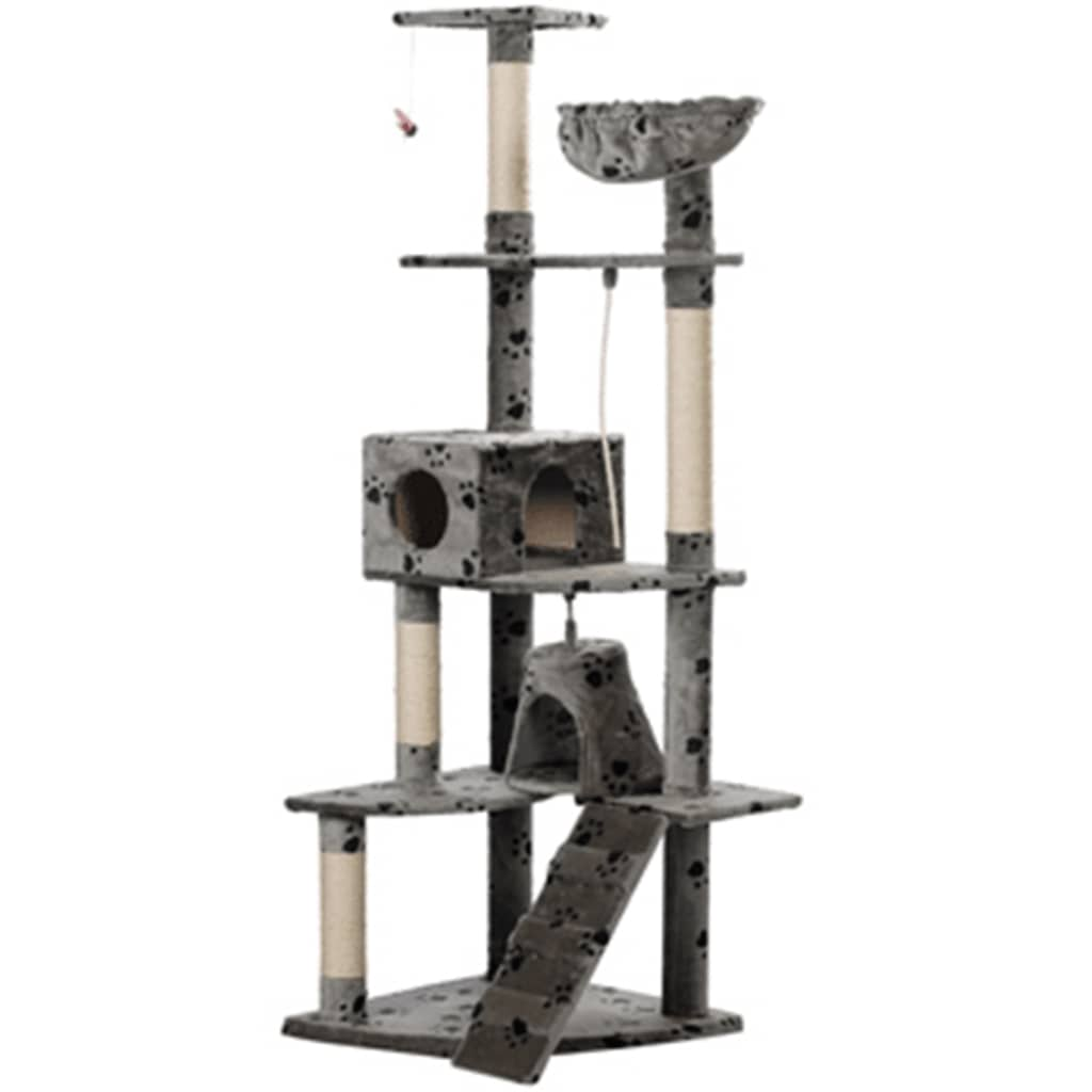 vidaXL Cat Tree 191 cm Gre