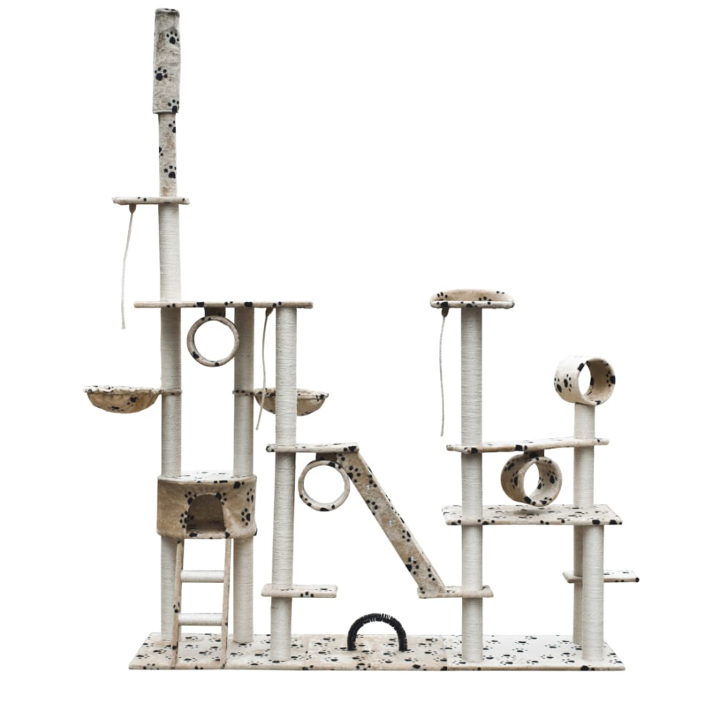 vidaXL Cat Tree Deluxe 230-260 c