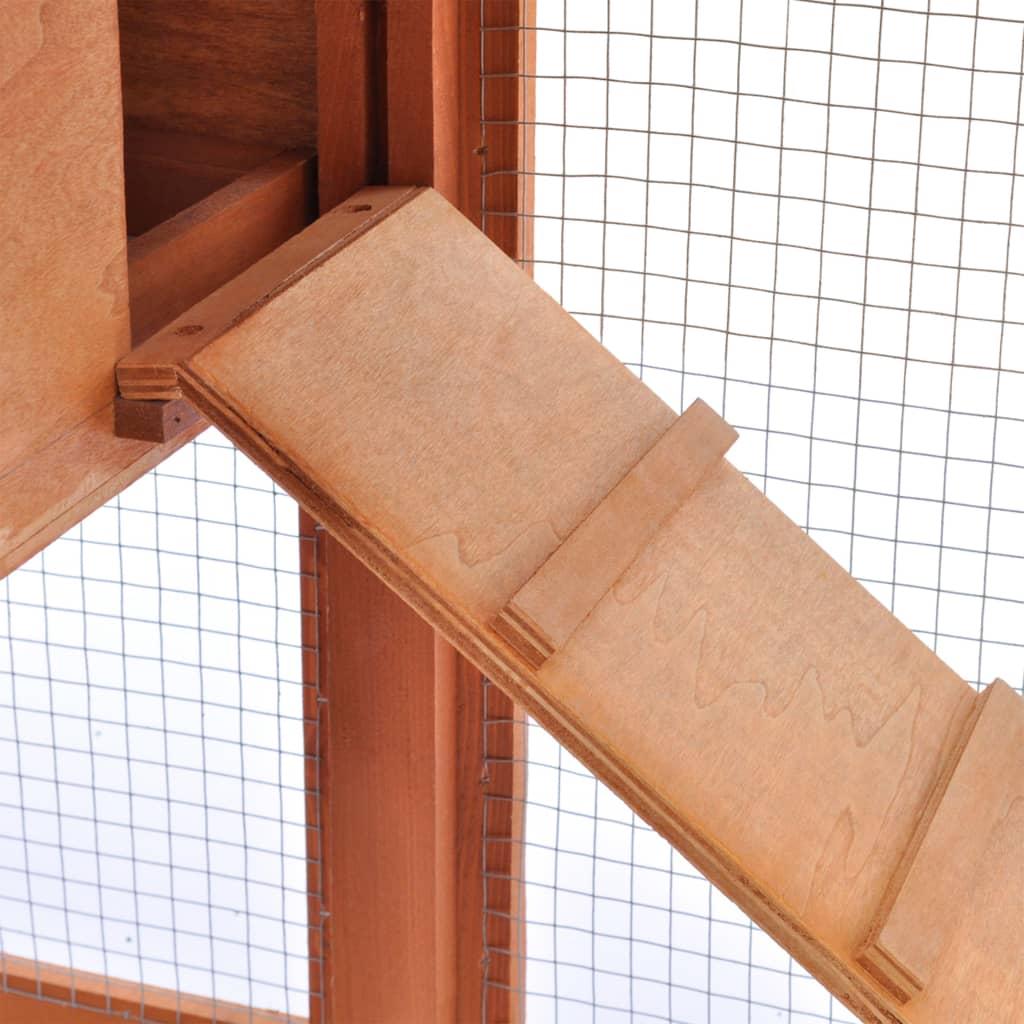 Acheter grande cage clapier ext rieur en bois pour lapins for Cage exterieur pour lapin pas cher