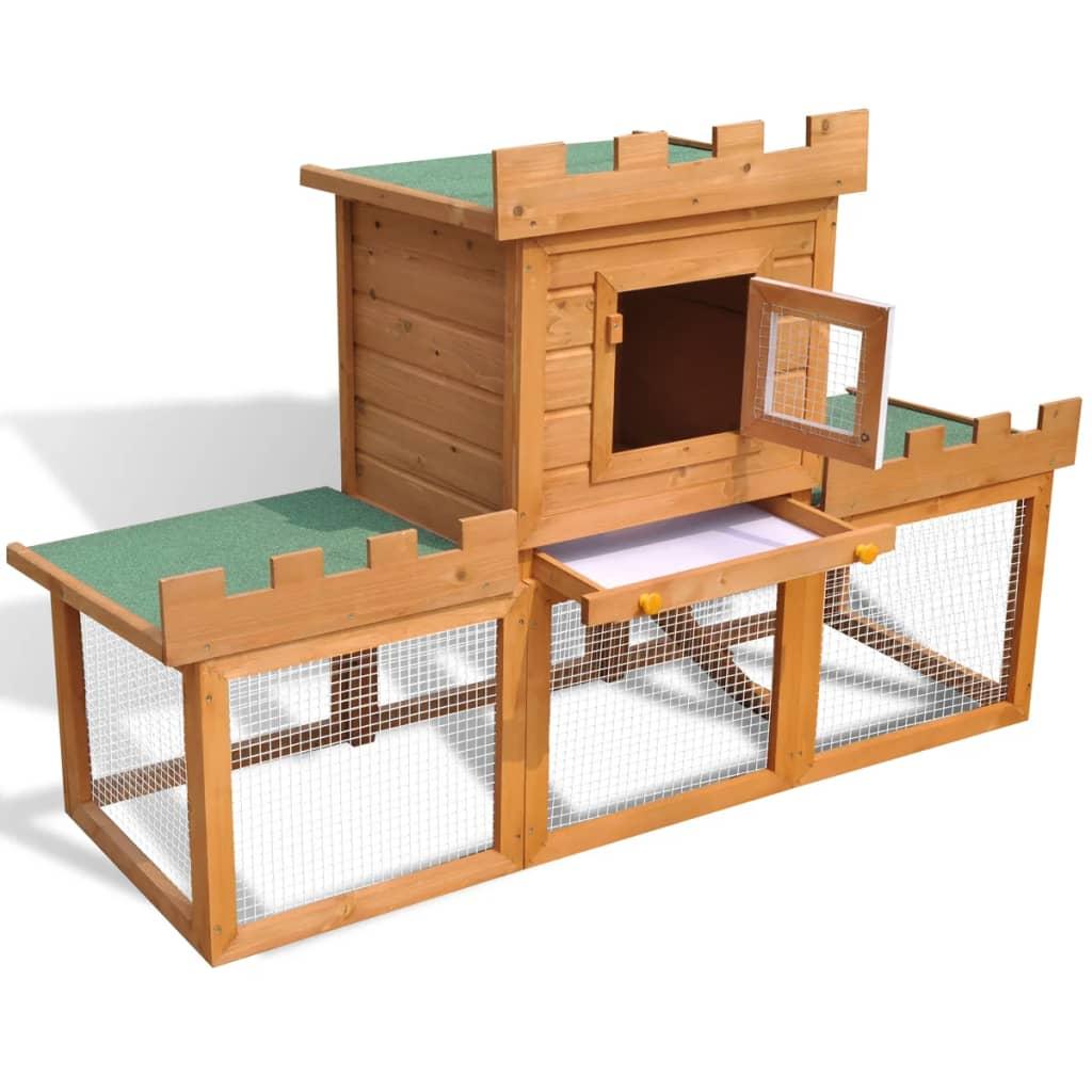 Articoli per gabbia con casetta per conigli da esterno for Articoli per esterno