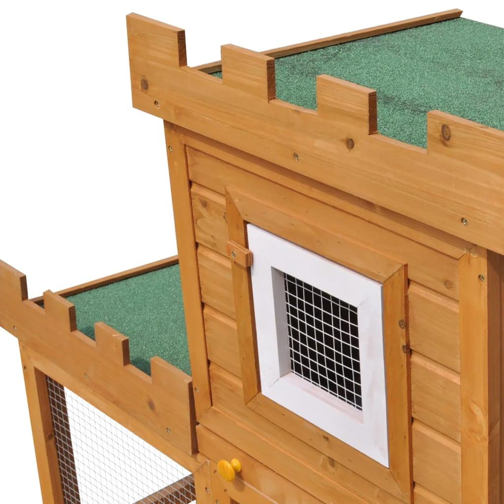 Acheter grande cage clapier ext rieur pour lapins en bois for Cage exterieur pour lapin pas cher
