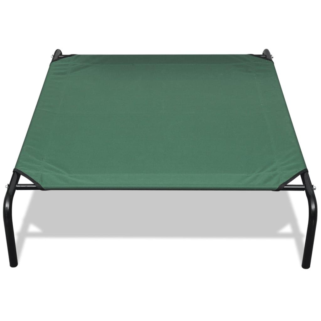 acheter lit sur lev pour animaux avec cadre en acier 110 x 80 cm pas cher. Black Bedroom Furniture Sets. Home Design Ideas