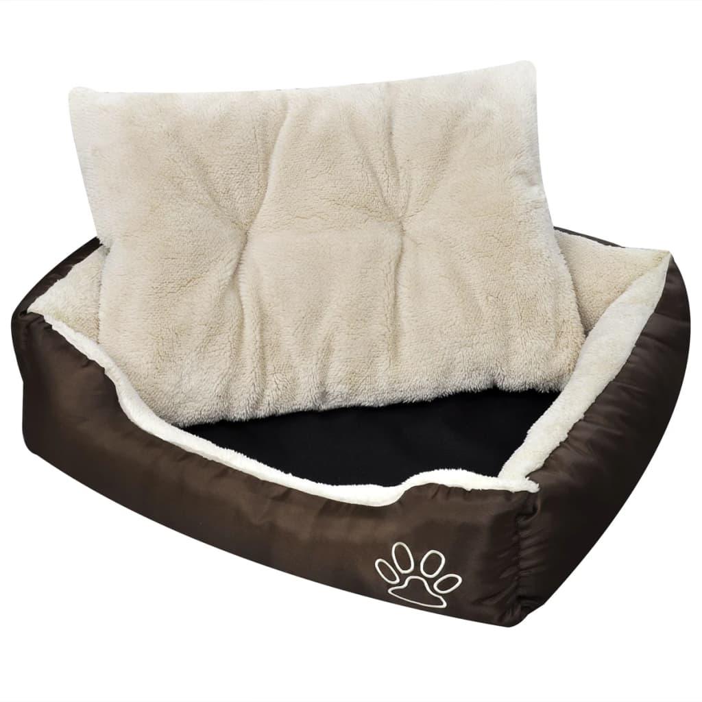 acheter panier chaud pour chien avec coussin rembourr l pas cher. Black Bedroom Furniture Sets. Home Design Ideas