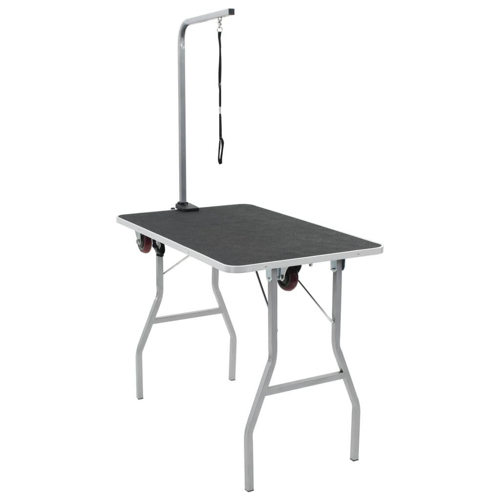 vida-xl-portable-dog-grooming-table-with-castors