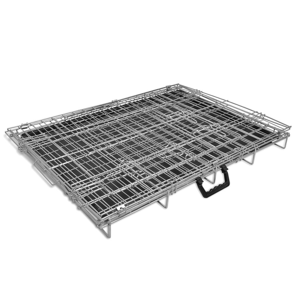 acheter cage en m tal pliable pour chien l pas cher. Black Bedroom Furniture Sets. Home Design Ideas