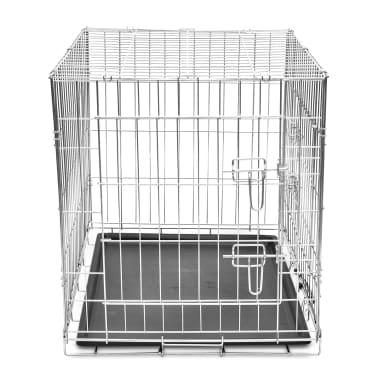 Skladacia kovová klietka pre psa, veľkosť L[3/5]