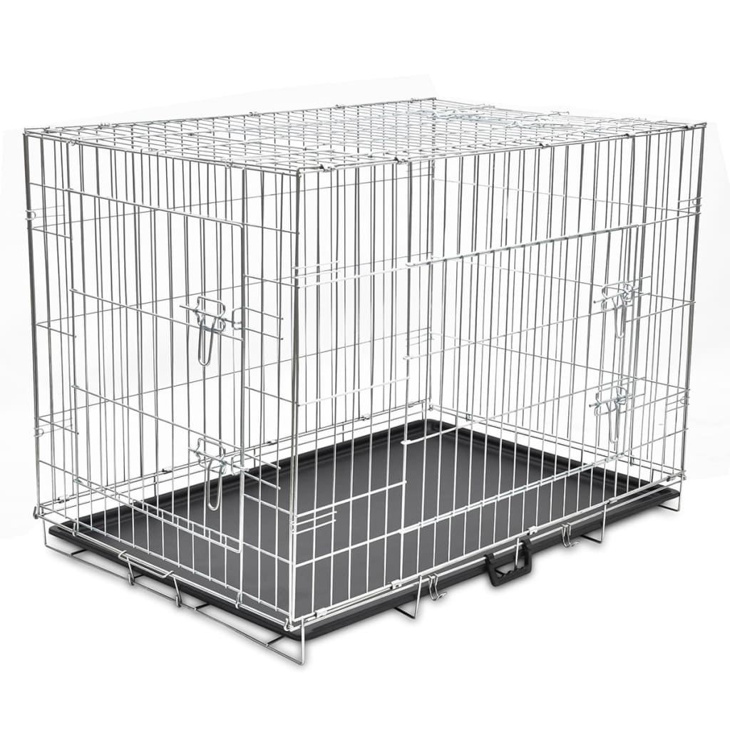 la boutique en ligne cage en m tal pliable pour chien xl. Black Bedroom Furniture Sets. Home Design Ideas