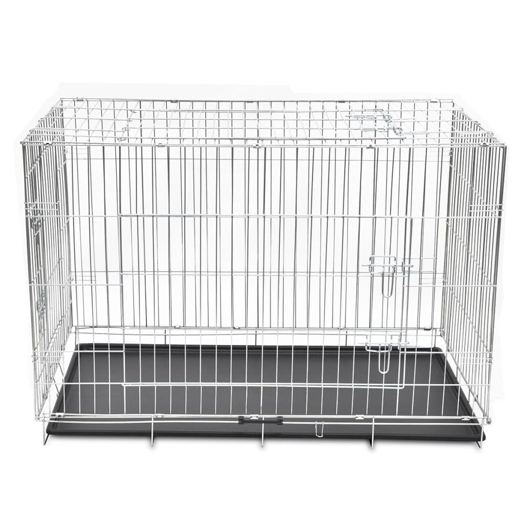 la boutique en ligne cage en m tal pliable pour chien xxl. Black Bedroom Furniture Sets. Home Design Ideas