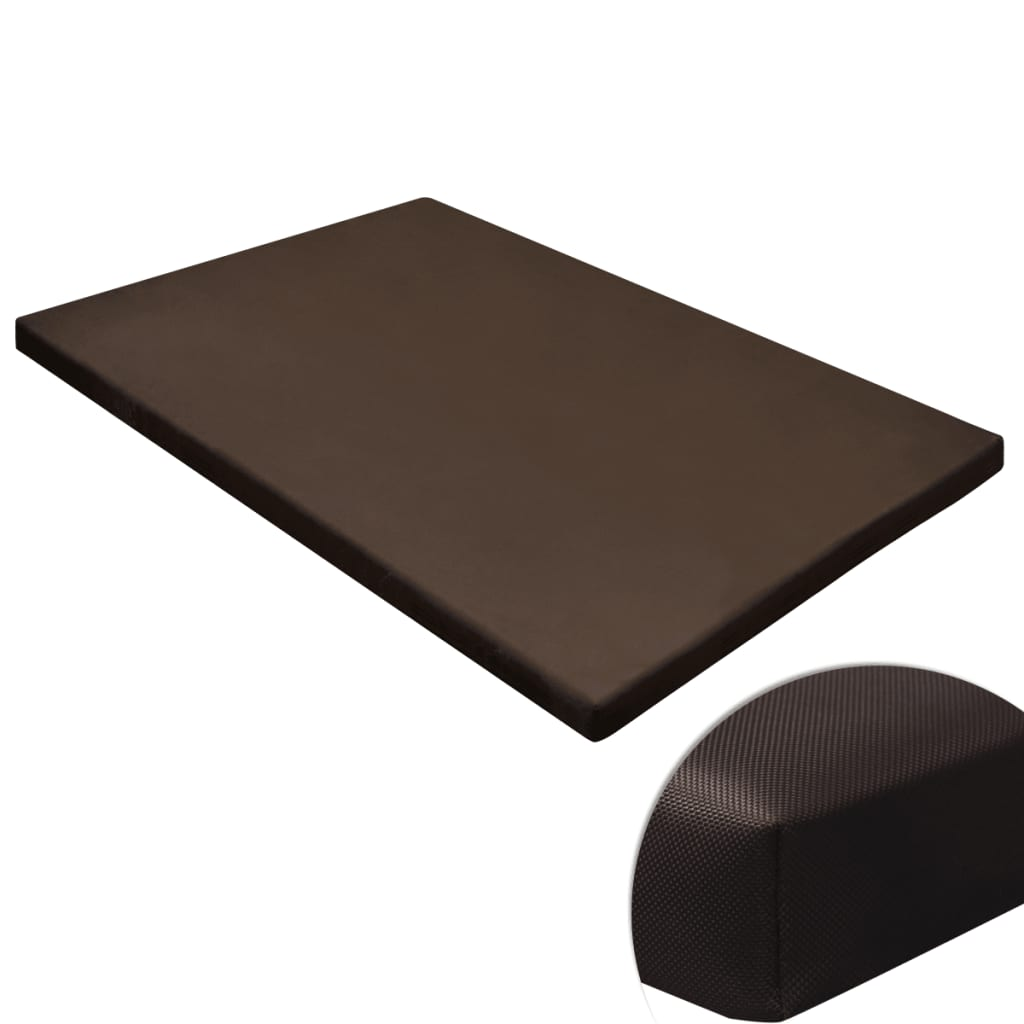 acheter tapis plat rectangulaire pour chien marron taille m pas cher. Black Bedroom Furniture Sets. Home Design Ideas