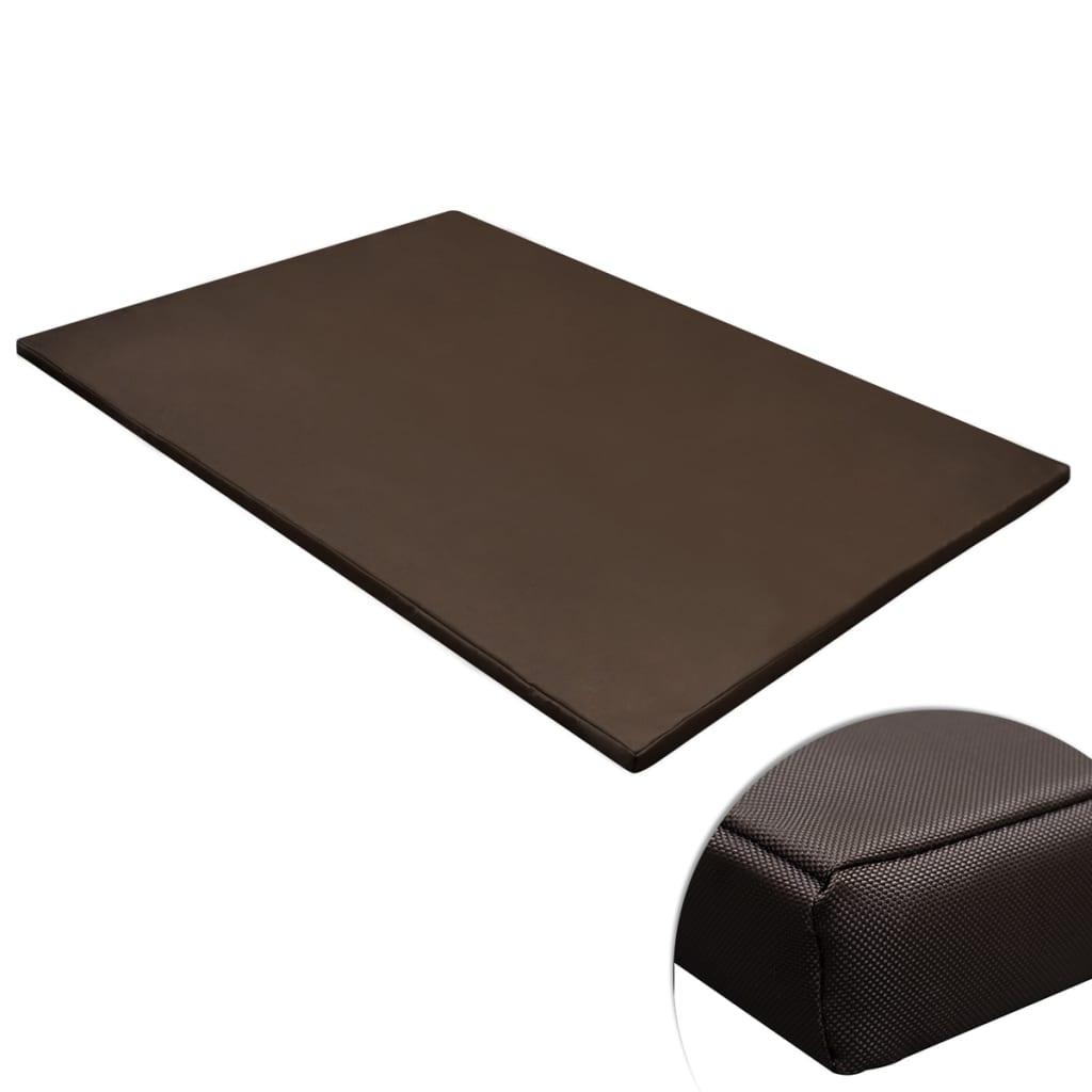 la boutique en ligne tapis plat rectangulaire pour chien marron taille xl. Black Bedroom Furniture Sets. Home Design Ideas