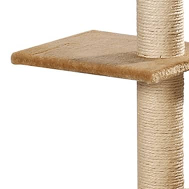"Cat Tree 41"" Beige Plush[4/5]"