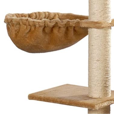 "Cat Tree 41"" Beige Plush[5/5]"