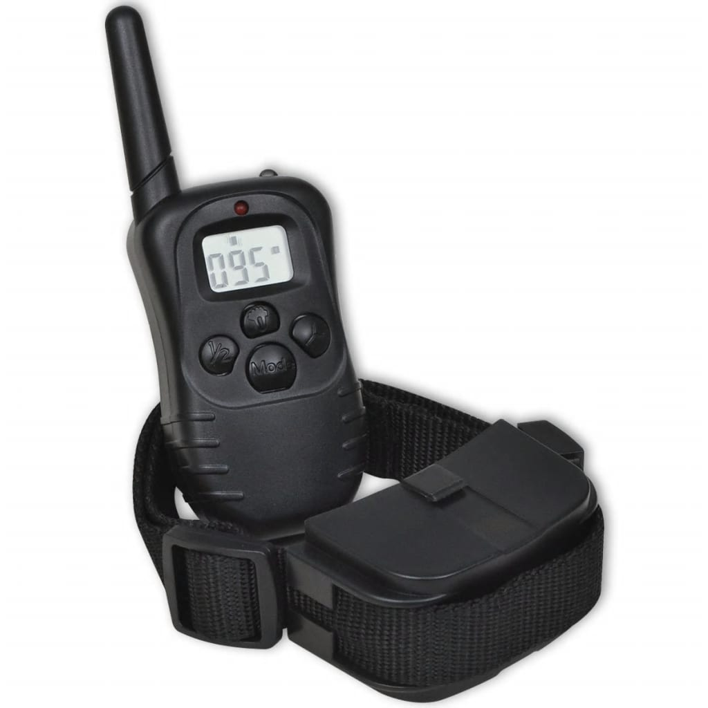 Battery Powered Dog Trainer With 1 Collar And Remote