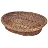 Willow Dog Basket/Pet Bed Natural 90 cm