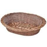 Willow Dog Basket/Pet Bed Natural 70 cm