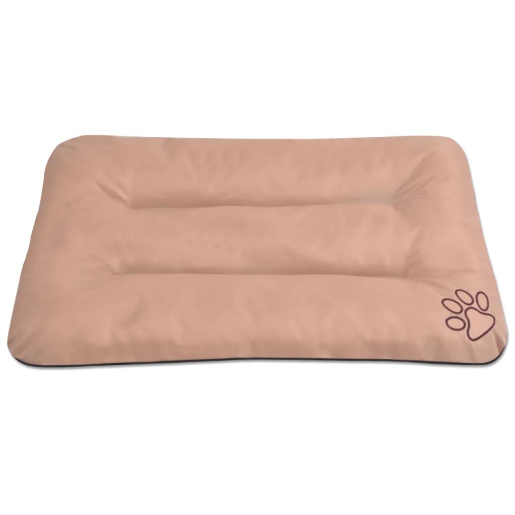acheter vidaxl matelas pour chiens taille xxl beige pas cher. Black Bedroom Furniture Sets. Home Design Ideas