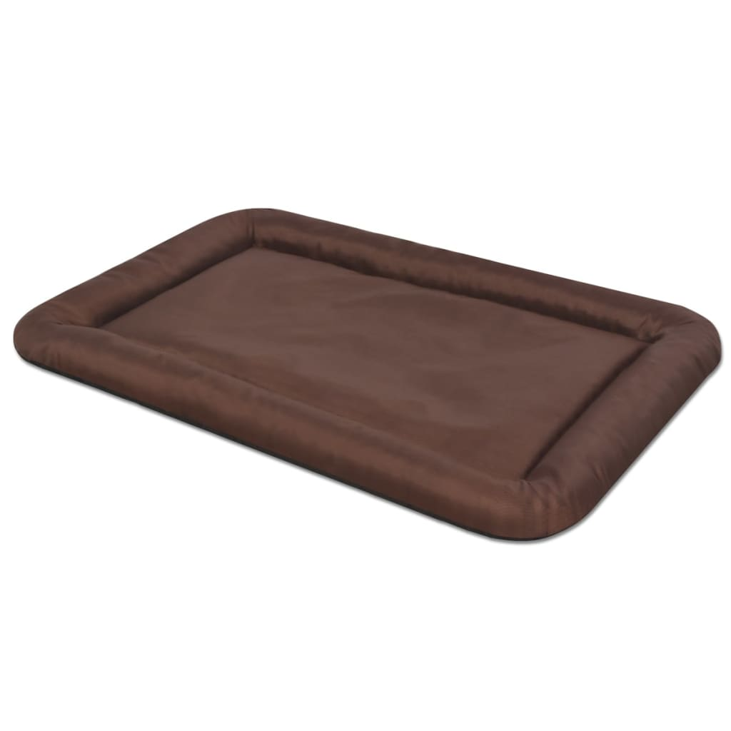 vidaxl matelas pour chiens taille s marron. Black Bedroom Furniture Sets. Home Design Ideas