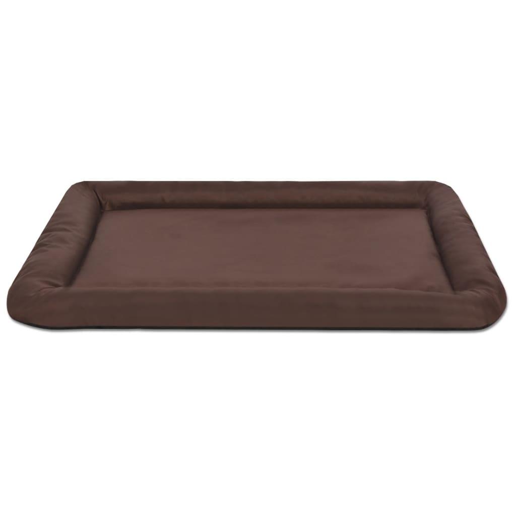 acheter vidaxl matelas pour chiens taille l marron pas. Black Bedroom Furniture Sets. Home Design Ideas