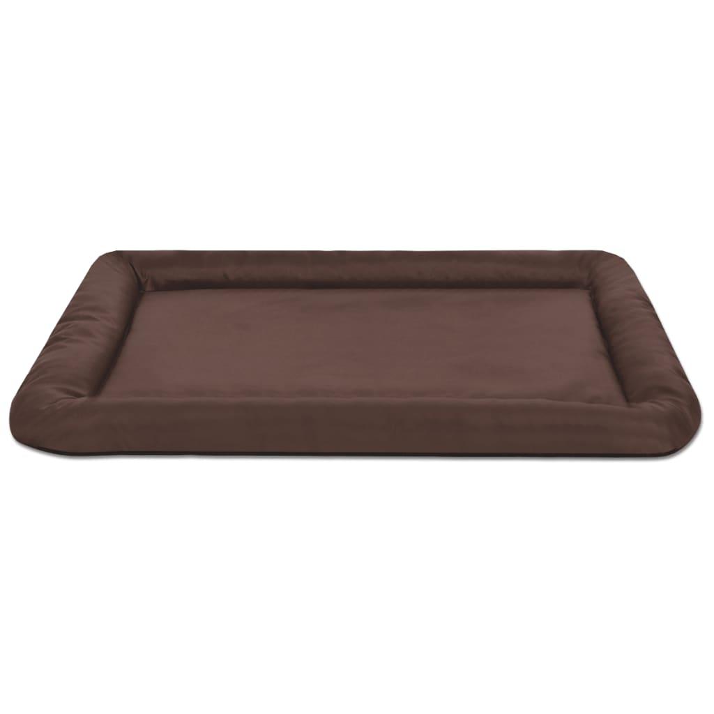 acheter vidaxl matelas pour chiens taille xxl marron pas cher. Black Bedroom Furniture Sets. Home Design Ideas