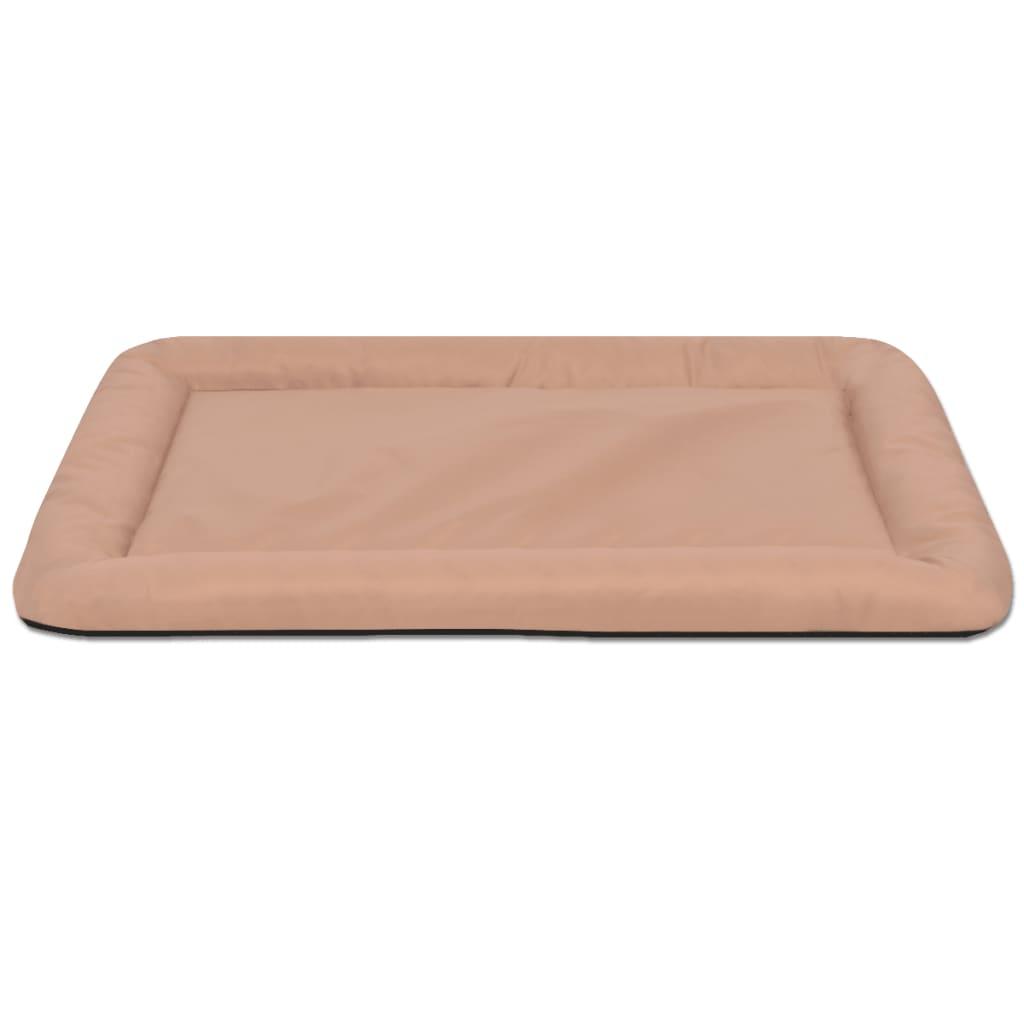 acheter vidaxl matelas pour chiens taille l beige pas cher. Black Bedroom Furniture Sets. Home Design Ideas