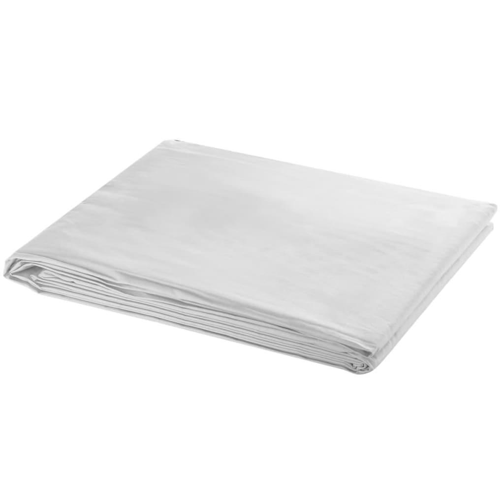 vidaXL Háttér XL fehér 600 x 300 cm