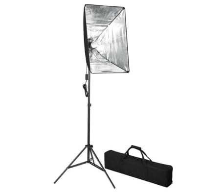 Studiolampa inklusive softbox 60 x 40 cm