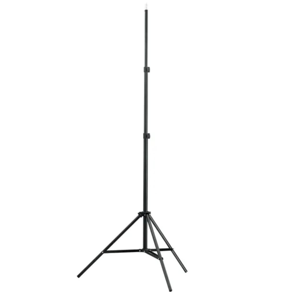 vidaXL Lampenstativ Höhe 78-210 cm