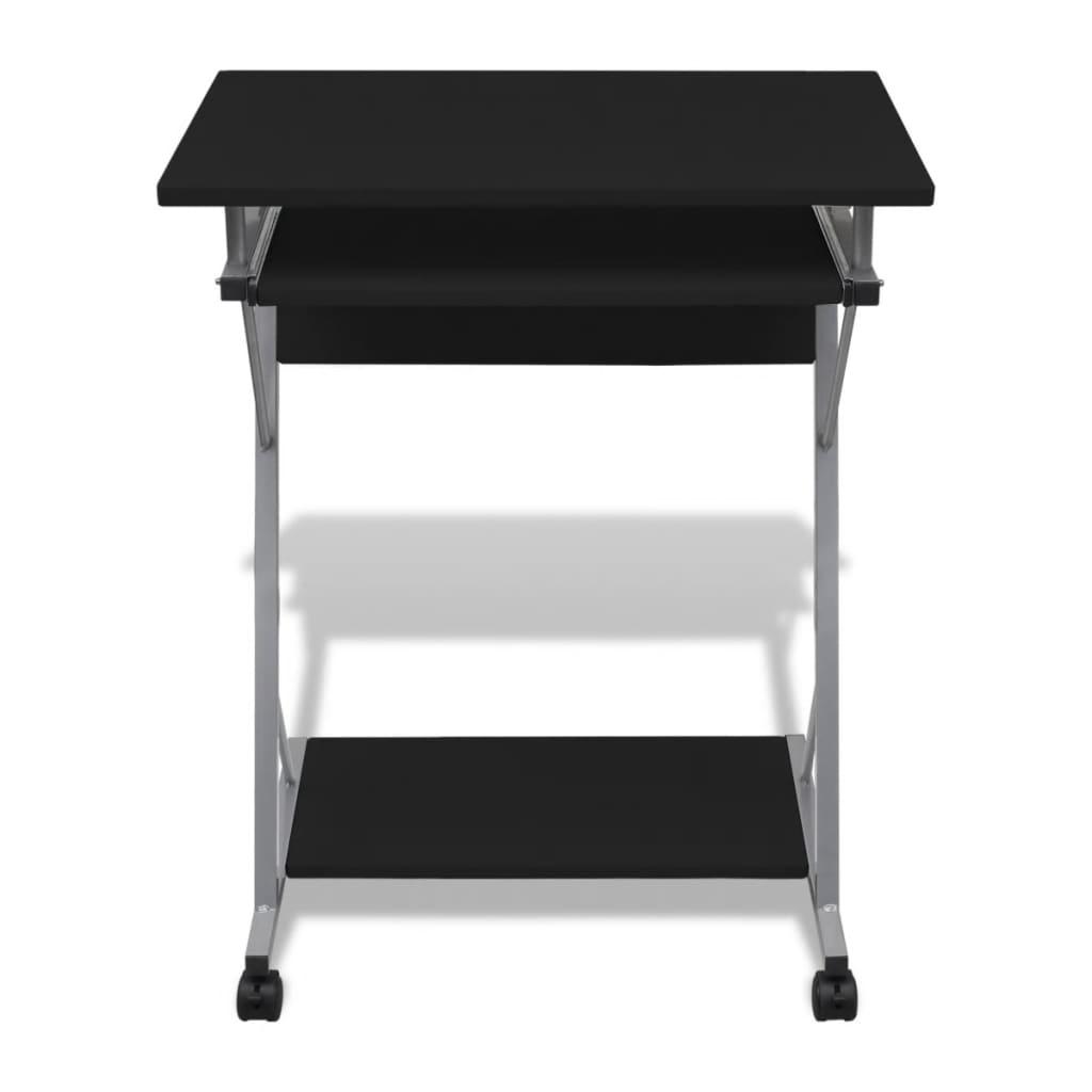 acheter table de bureau noire pour ordinateur pas cher. Black Bedroom Furniture Sets. Home Design Ideas